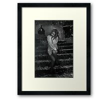Late Nights and Romance Framed Print