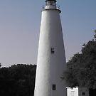 Ocracoke Lighthouse by SilverLilyMoon