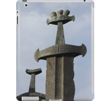 Swords in Rock iPad Case/Skin