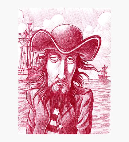 Nigel the pirate Photographic Print