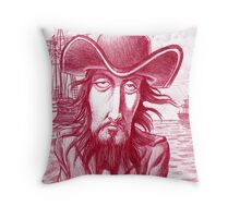 Nigel the pirate Throw Pillow