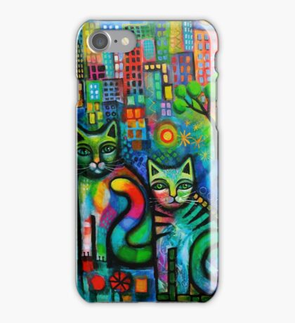 Metropolitan cats iPhone Case/Skin