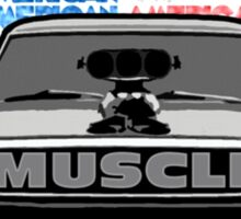 STREET RACING AMERICAN MUSCLE Sticker