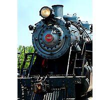 Great Western 90 Locomotive Photographic Print