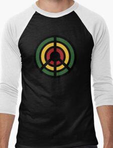 Peace,Love,Music Rebel Men's Baseball ¾ T-Shirt