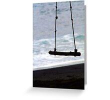 ~ kahena swing Greeting Card