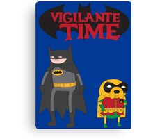 Vigilante Time Canvas Print
