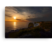 Evening Falls over The Twelve Apostles  Canvas Print