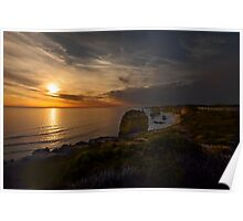Evening Falls over The Twelve Apostles  Poster