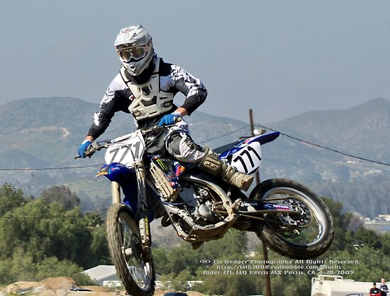 Perris MX; LLQ April 2009 Rider 771; All Rights Reserved Lei Hedger Photography by leih2008