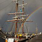 A Rainbow in the Rigging by Odille Esmonde-Morgan
