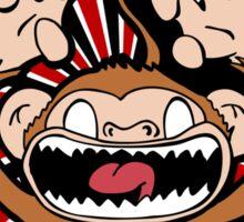 Angry Monkey Sticker