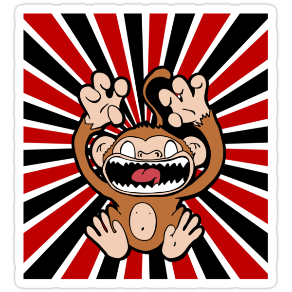 Angry Monkey by shpshift