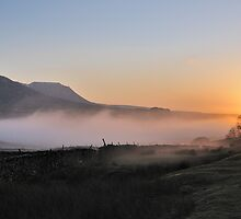 Ribblehead sunset by Richard Ion