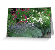 Lavender & Friends - Royal Roads University Greeting Card