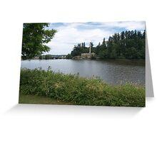 Capitol Lake in Olympia WA Greeting Card