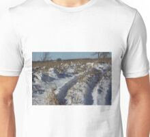 Track's in the Snow in Kansas Unisex T-Shirt