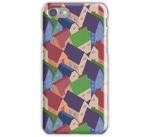 Abstract houses seamless pattern iPhone Case/Skin