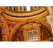 St. Peter's Vatican PhotoSketchBook 2-12 Photographic Print