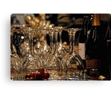 At the Wine Tasting Canvas Print