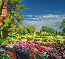 Lincoln Sunken Gardens - HDRI Style by doctorphoto