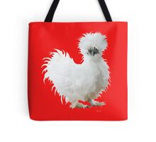 Silly Silkie Chicken Tote Bag