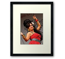 Amy Wynehouse Framed Print