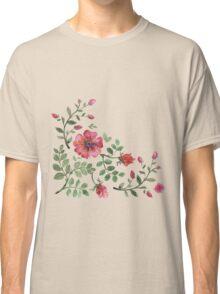 watercolor roses Classic T-Shirt