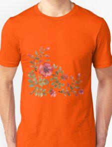 watercolor roses Unisex T-Shirt