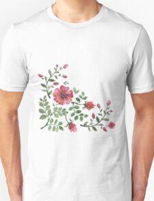 watercolor roses T-Shirt