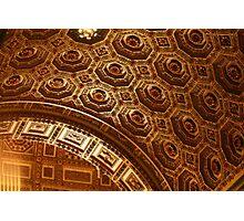 St. Peter's Vatican PhotoSketchBook 5-12 Photographic Print