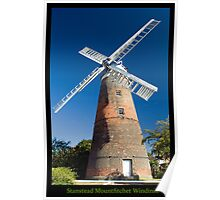 Stanstead Windmill Poster