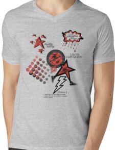 Friends Laughter & Tears Mens V-Neck T-Shirt