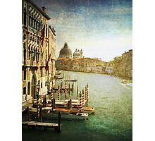 Grand Canal~ Venezia Photographic Print