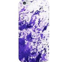Block purple part 2 iPhone Case/Skin