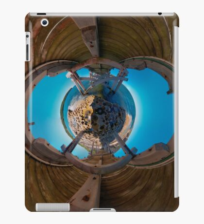 Bare Island pier, Botany Bay (stereographic projection) iPad Case/Skin