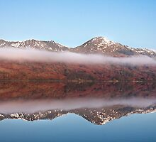 Coniston on a cold and misty morn' by Shaun Whiteman