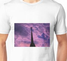 Bright and Colorful Cross in the SKY Unisex T-Shirt