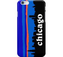 Chicago, skyline silhouette iPhone Case/Skin