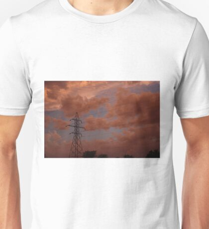 Stormy Night out back in Kansas Unisex T-Shirt