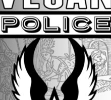 Vegan Police (To protect and to serve) Sticker
