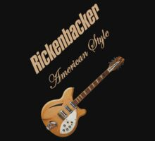 Rickenbacker Natural 12s American Style  by kennyn