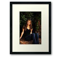 Krista 3 Framed Print