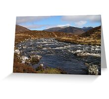 In the Fannaichs - Scottish Highlands Greeting Card