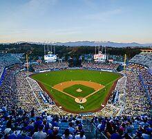 Dodger Stadium by lamomo