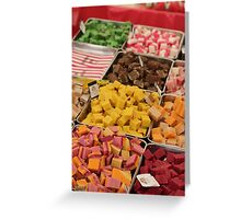 Color Candy Blocks Greeting Card