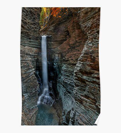 Cavern Cascade Poster