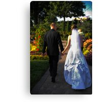 Wedding 9 Canvas Print