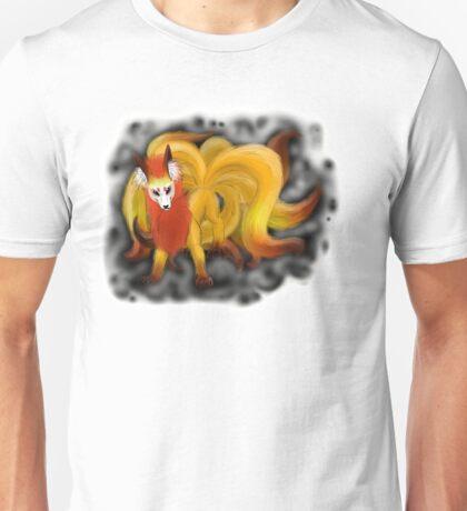 Nine-Tailed Kitsune (White Recommended.) Unisex T-Shirt