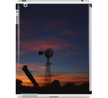 Kansas Bright and Colorful Evening Sunset iPad Case/Skin